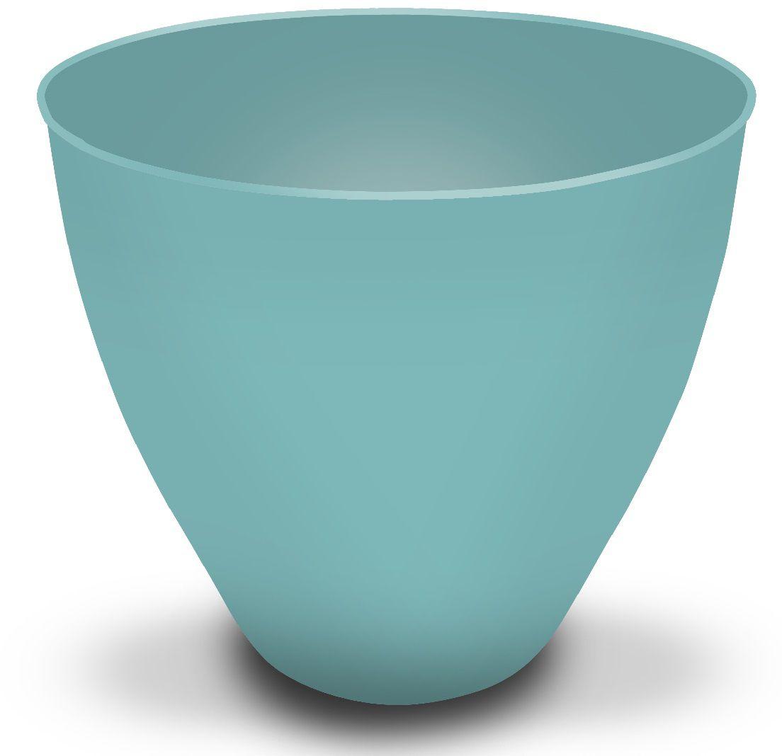 Cachepô Plantiê - Fosco Azul Turquesa