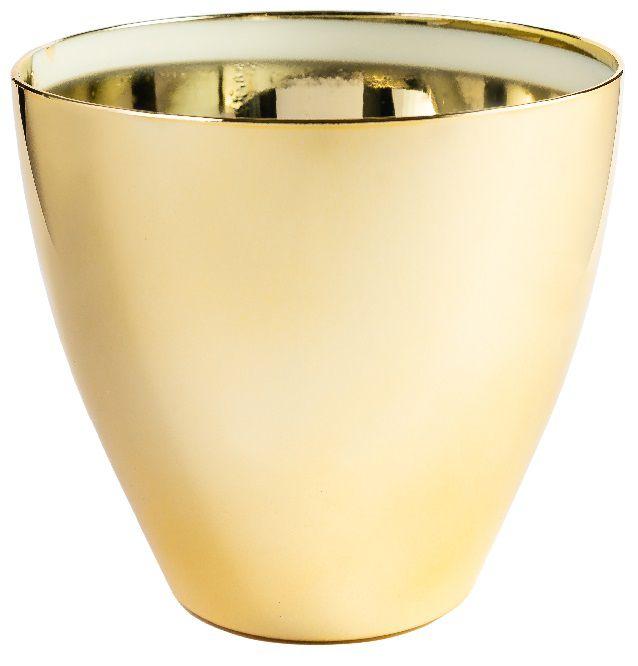 Cachepô Plantiê - Metalizado Dourado