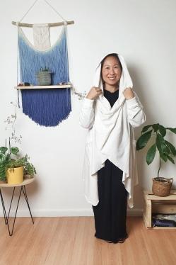 Casaco Templo Moletom Sustentável Off White