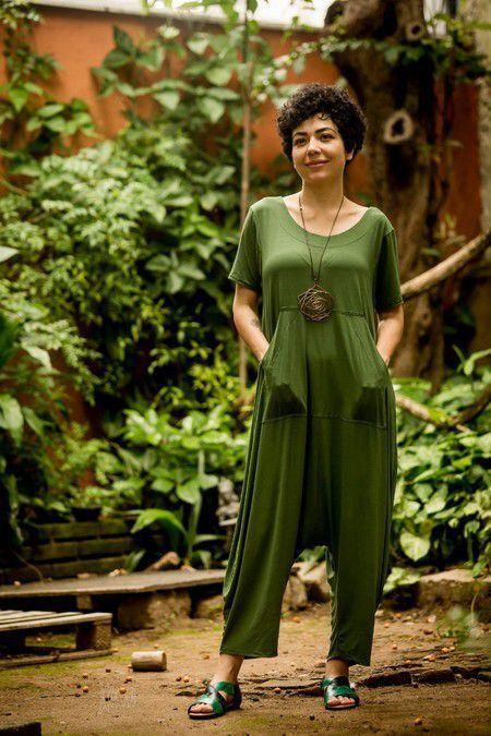 Macacão Arco-Íris Verde Manjericão