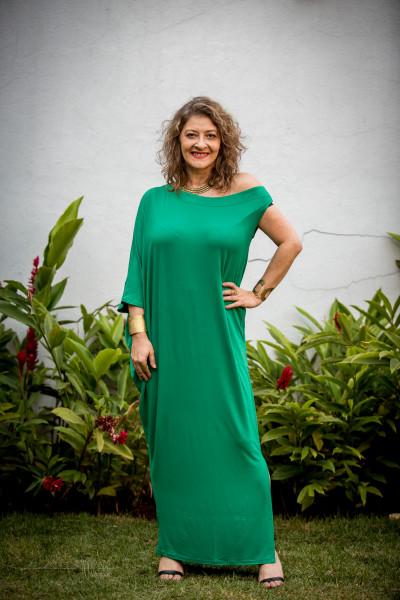 Vestido Mar Verde Trevo