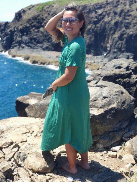 Vestido Vento Suco Verde