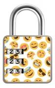 Cadeado de Segredo - 35mm - Fashion Smile - Papaiz