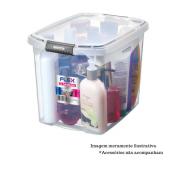 Caixa Organizadora c/ tampa - 11L - Flex - Sanremo
