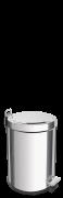 Lixeira Inox com pedal 3L - Brasil - Tramontina