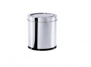 Lixeira Inox com tampa Basculante 5,4L - Decorline -  Brinox