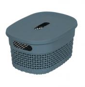 Organizador Plástico c/ tampa Mediterrâneo - 6L - Astra