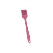 Pincel de Silicone Pequeno - Rosa - Oikos