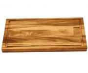 Tábua para Churrasco Retangular Média - Madeira Muiracatiara com Acabamento envernizado 40x27cm - Tramontina