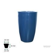 Vaso Cone Liso 45 - Azul Macaúba - Vasap