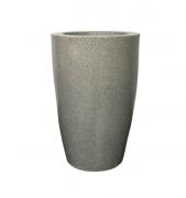 Vaso Cone Liso 45 - Cinza Granito - Vasap
