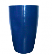 Vaso Cone Liso 55 - Azul Macaúba - Vasap