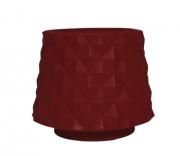 Vaso Recôncavo 46 Mini - Vermelho Bordô - Vasap