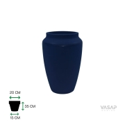 Vaso Thai 35 - Azul Macaúba - Vasap