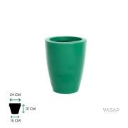Vaso Vietnamita 31 - Verde com Brilho - Vasap