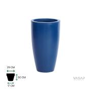 Vaso Vietnamita 70 - Azul Macaúba com Brilho - Vasap
