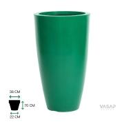 Vaso Vietnamita 70 - Verde com Brilho - Vasap