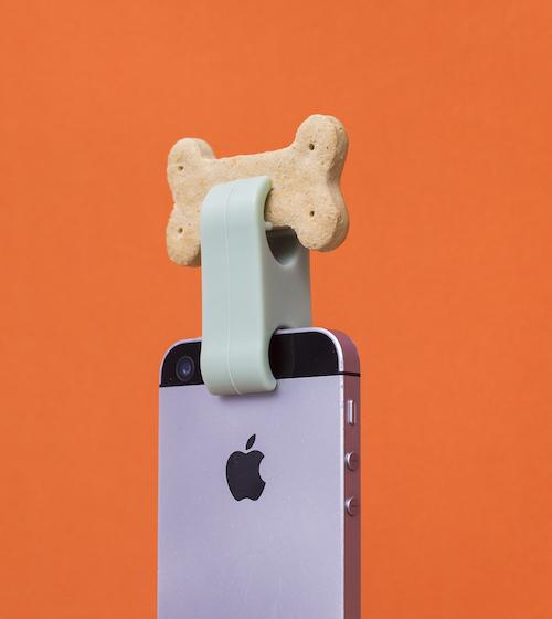 Acessório de Selfie para Pet - Verde - Oikos