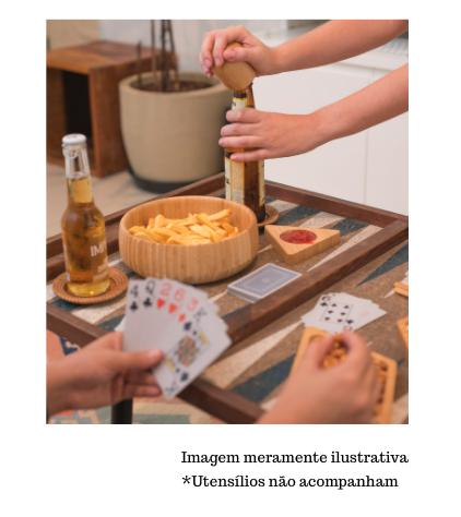 Bowl Canelado de Bambu - Pequeno - Oikos