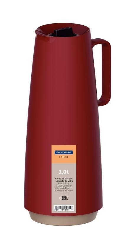 Bule Térmico 1L Vermelho Exata - Tramontina