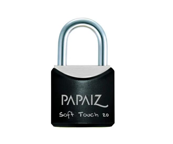 Cadeado CR20 Soft Touch - 20mm - Papaiz