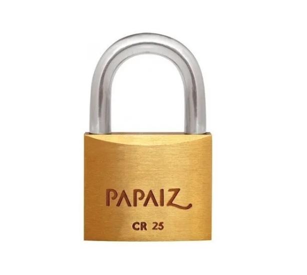 Cadeado CR25 - 25mm - Papaiz