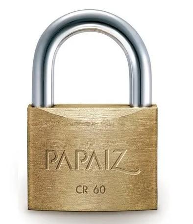 Cadeado CR60 - 60mm - Papaiz