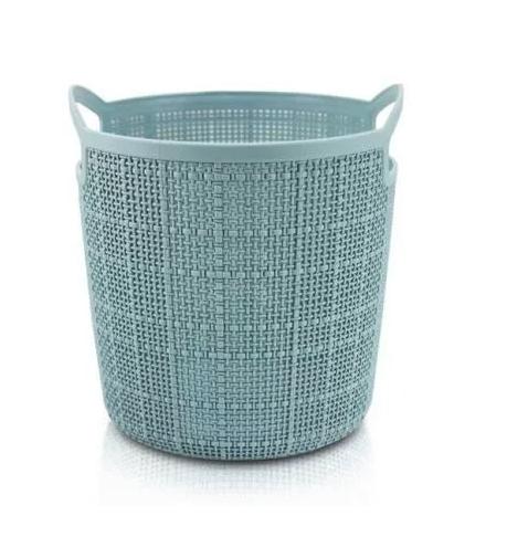Cesto Organizador redondo (P) - Azul - Jacki Design