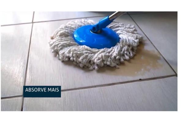 Conjunto Mop Rotatório com Balde -  13L - Nobre