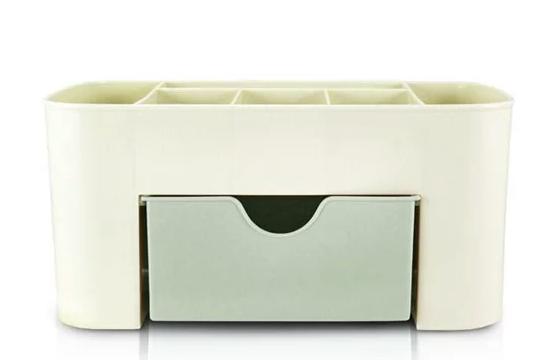 Organizador de Mesa Multifuncional com 1 Gaveta Verde - Lifestyle - Jacki Design