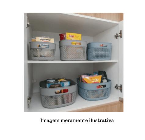 Organizador Plástico c/ tampa Mediterrâneo - 12L - Astra
