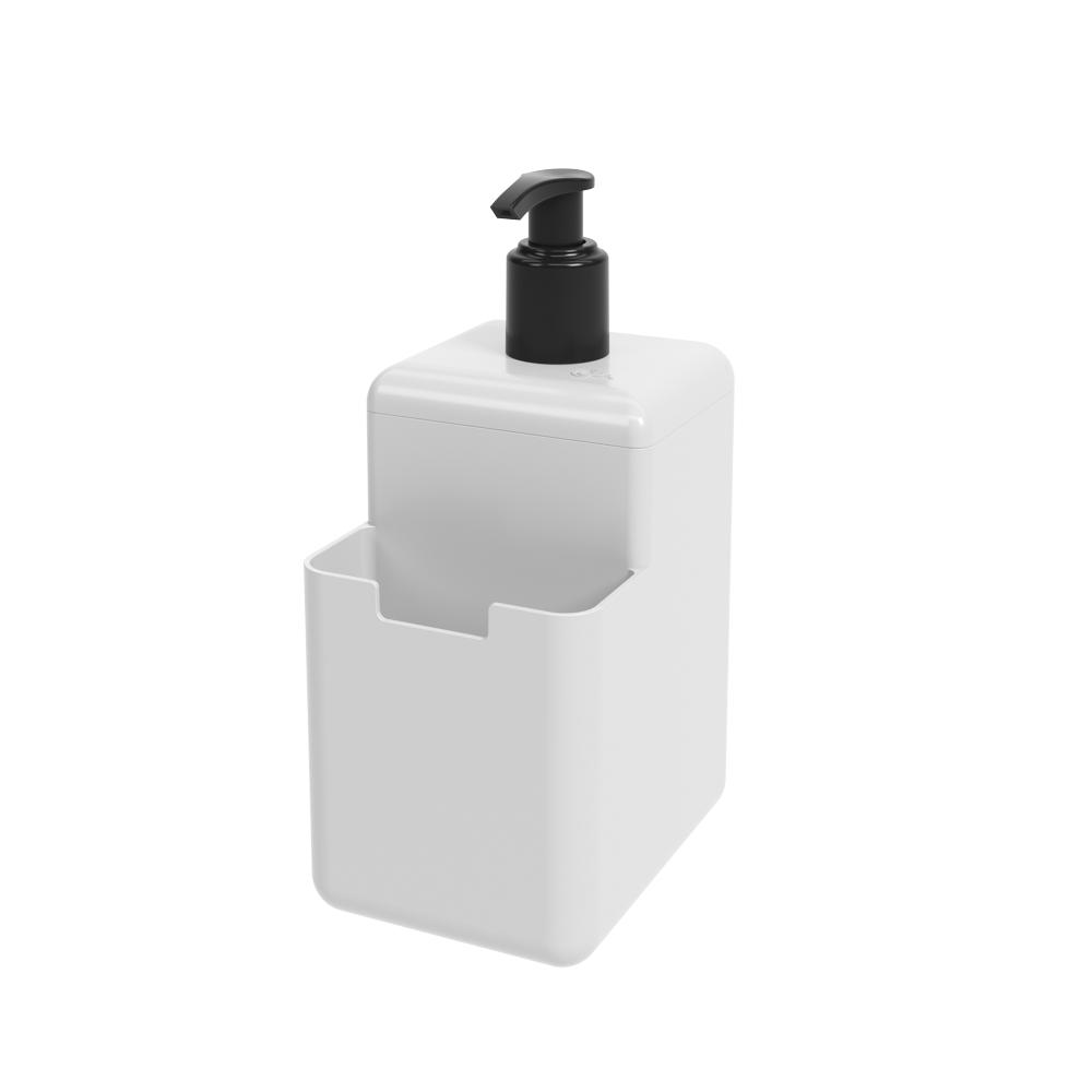 Dispenser 500 ml Single Branco - Coza
