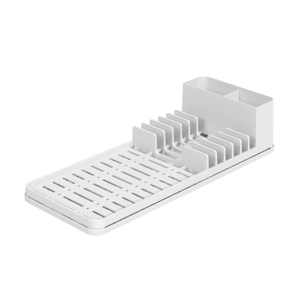 Escorredor c/ Tapete de Pia Single Branco - Coza