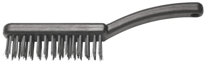 Escova de Aço com Base Plástica e 5 Fileiras de Aço Especial - Tramontina