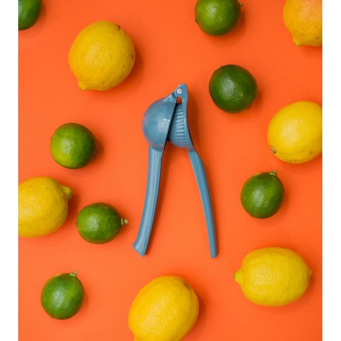 Espremedor de Limão - Azul - Oikos