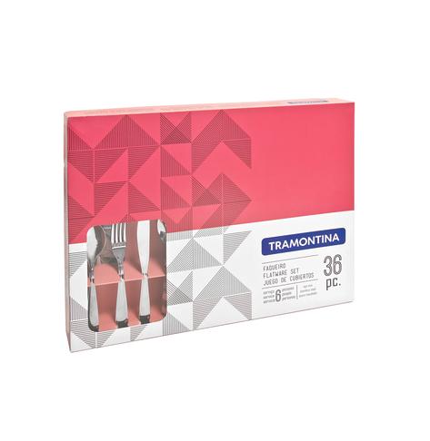Faqueiro para Churrasco em Inox - 36 peças - Laguna - Tramontina