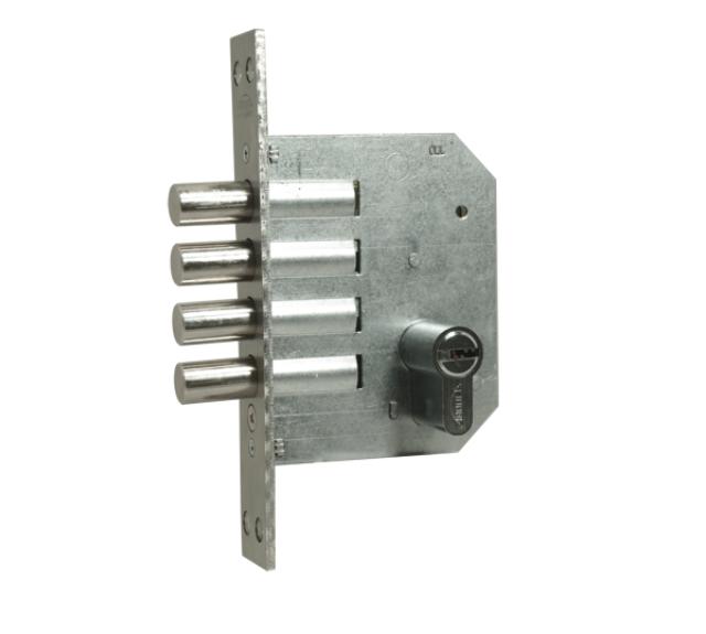 Fechadura Auxiliar - Cilindro 80mm - 4 pinos - 1410 - Quattro - Arouca