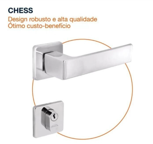 Fechadura Externa Chess - 40mm – Arouca