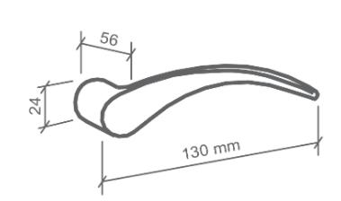 Fechadura Externa Icaro  - 55mm - Imab