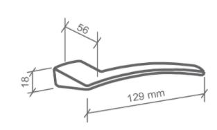 Fechadura Externa Logus - 55mm - Imab