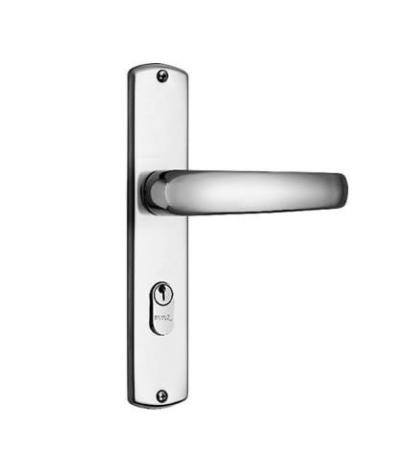 Fechadura Externa Standard MZ 271 com Espelho - 40mm - Papaiz