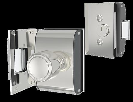 Fechadura para Porta de Vidro/Alvenaria - PV200R1I - AGL