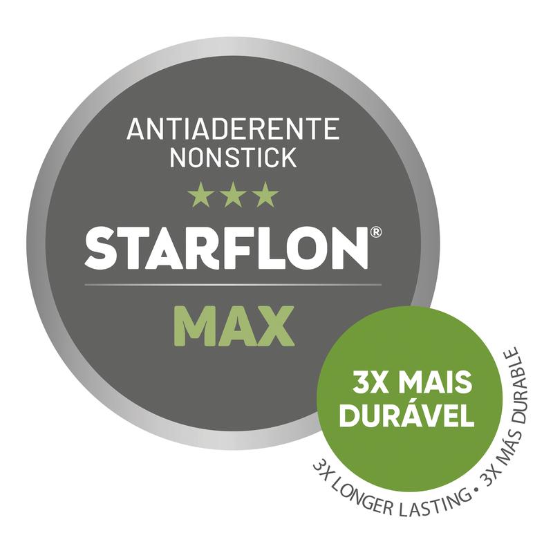 Fervedor em Alumínio com Revestimento Antiaderente - 12cm/1,2L Paris Grafite - Tramontina