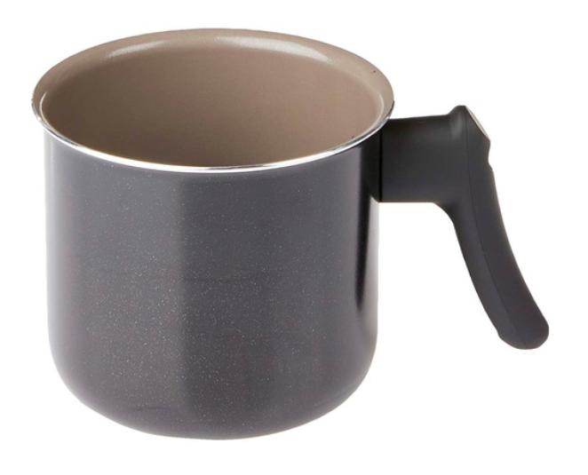 Jogo de Panelas Antiaderente - Ceramic Life Easy 7 Peças Preto - Brinox