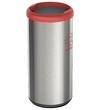 Lixeira Cápsula Selecta Plus 40L com Aro Vermelho e Base Preto - Tramontina