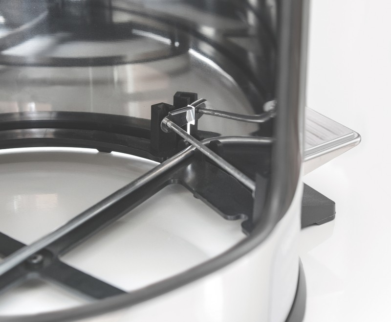 Lixeira Inox com pedal - Acabamento polido e balde interno - 30L - Tramontina