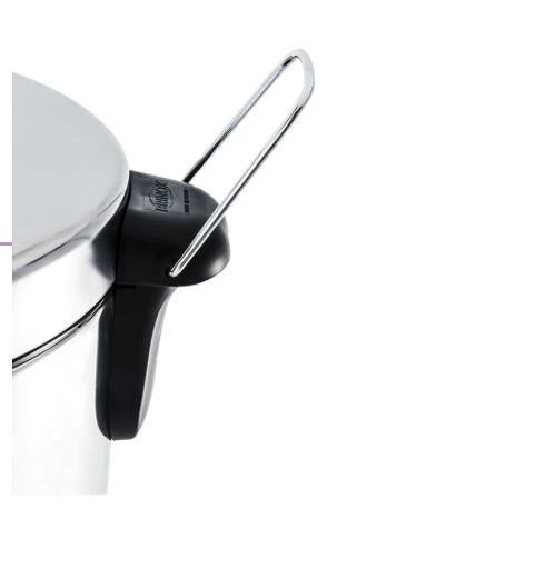 Lixeira Inox com Pedal e balde - 30L - Decorline - Brinox