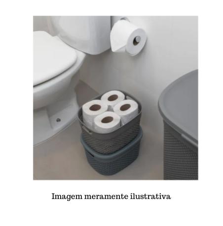 Organizador Plástico c/ tampa Mediterrâneo - 17L - Astra