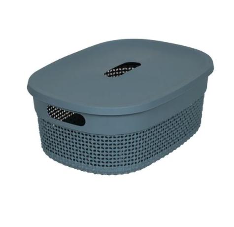 Organizador Plástico c/ tampa Mediterrâneo - 3,5L - Astra