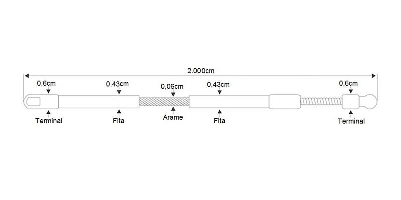 Passa Fio em Termoplástico com Alma de Aço 20m - Tramontina